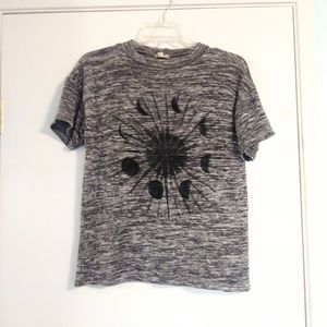 Ecote Urban Outfitters Grey Moon Cycle Tee